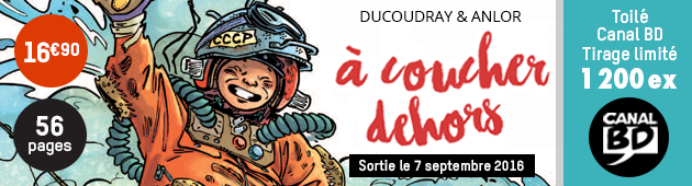 Nouveautés BD & COMICS de la semaine du 10 au 15 octobre 2016 Bando-dehors-630x170